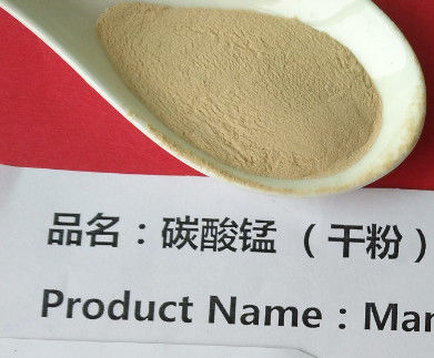 Chemical Manganese 4 Carbonate , High Purity Manganese Carbonate Powder