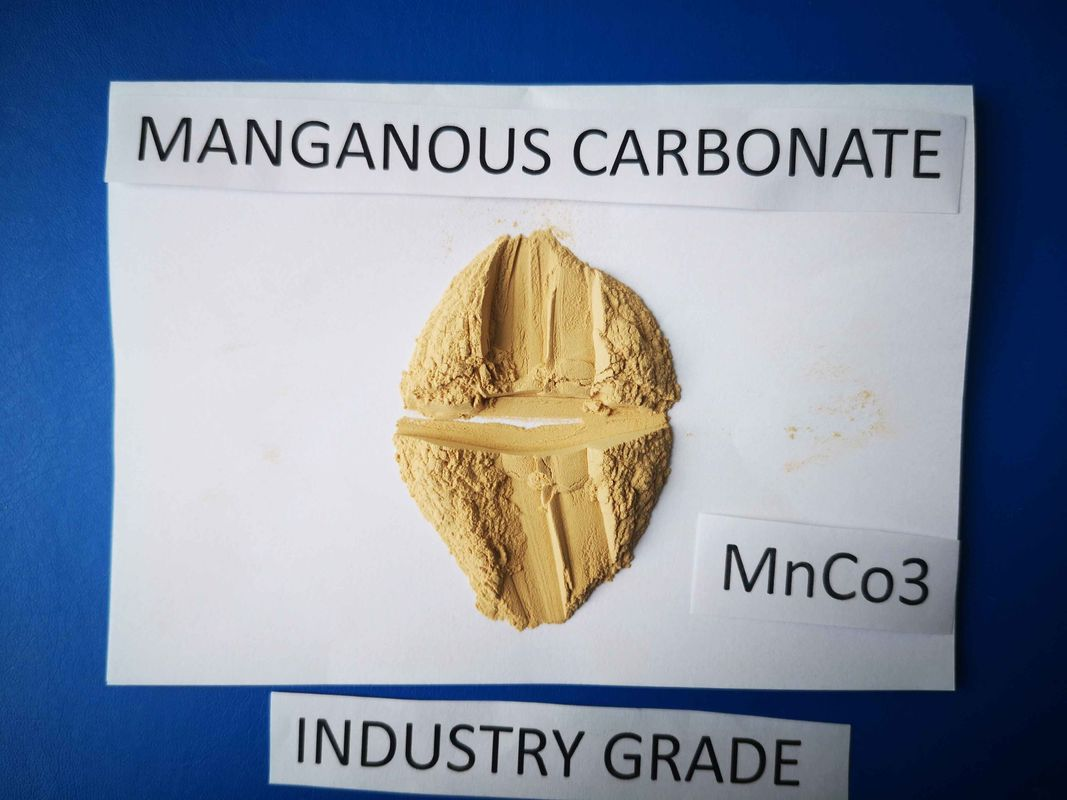 Wet Manganese Carbonate Powder Mn 43.5 Purity MnCO3 Used For Magnetic Materials
